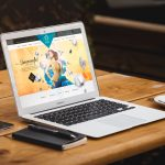 Macbook Air Mockup Free PSD Graphics