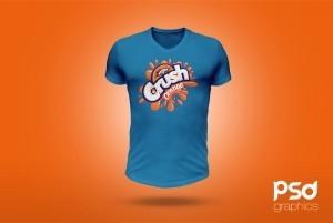 T-Shirt Mockup Free PSD Template