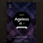 Ageless - Free Event PSD Flyer Template