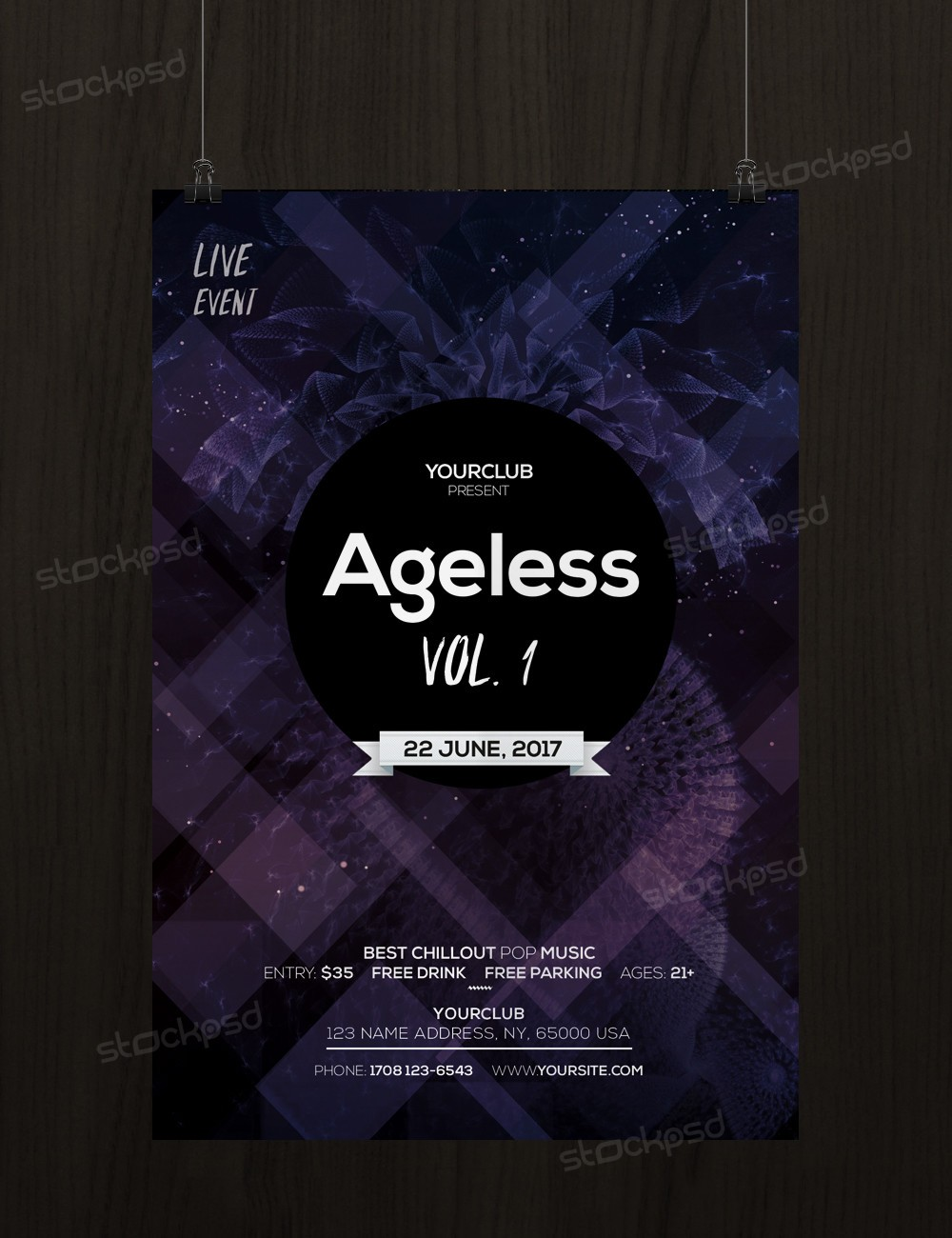 stockpsd net ageless free event psd flyer template stockpsd net