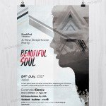 Beautiful Soul - Free PSD Flyer Template