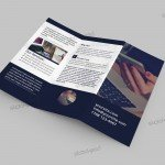 Tri-Fold Corporate Brochure - Free PSD Template