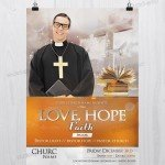 Hope & Faith – Church PSD Free Flyer Template