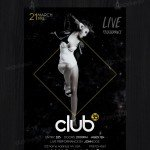 Club 35 – Free PSD Flyer Template