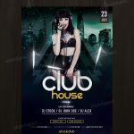 Club House - Download Free PSD Flyer Template