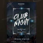 Club Night Party - Free PSD Flyer Template
