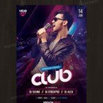 Club Vibe Night - Free PSD Flyer Template