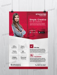 Creative Corporate – PSD Free Flyer Template