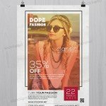 Dope Classic Fashion - Free PSD Flyer Template