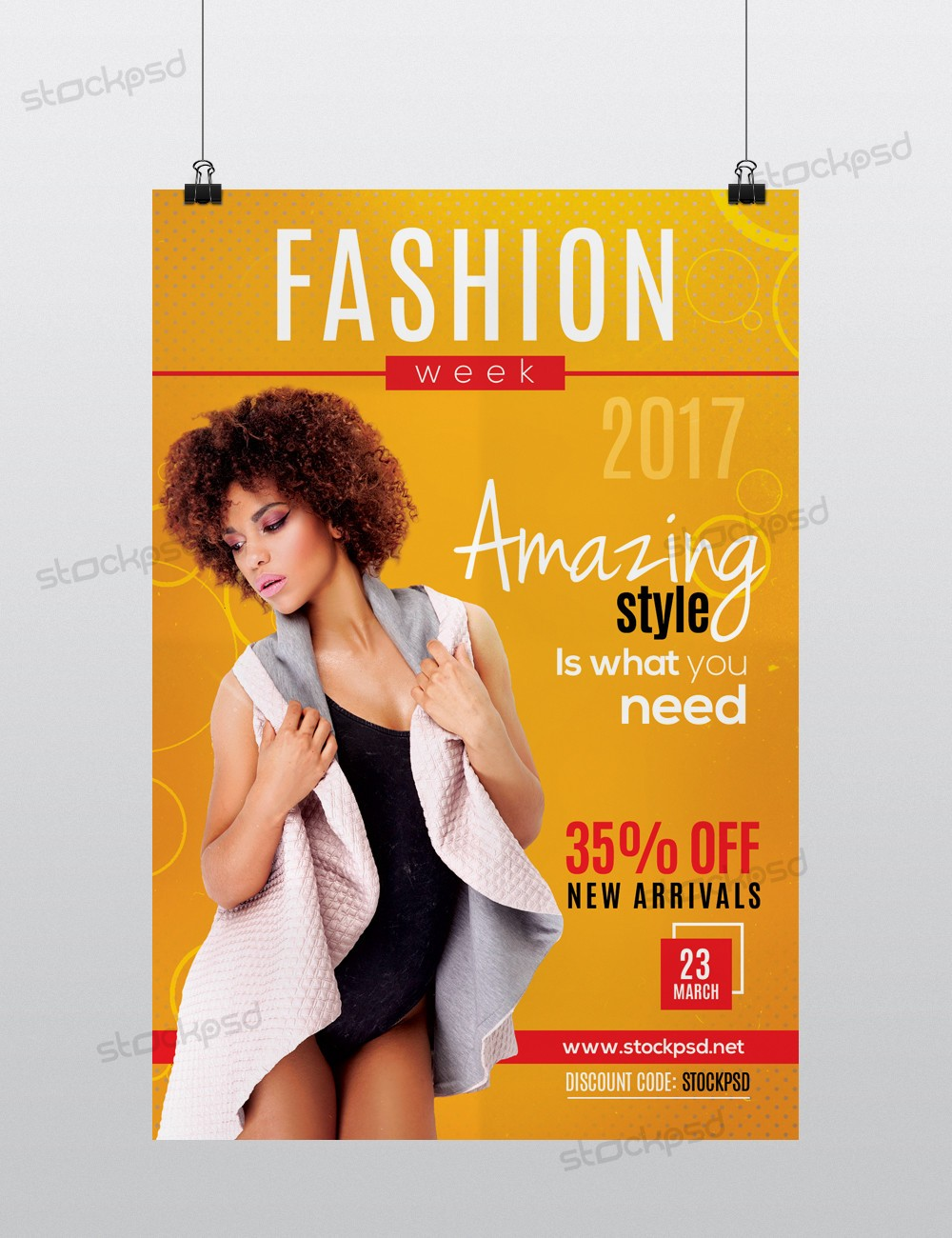 Free psd flyers brochures and more for Fashion flyers templates for free