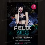 Download Felix Vibe - Free PSD Flyer Template