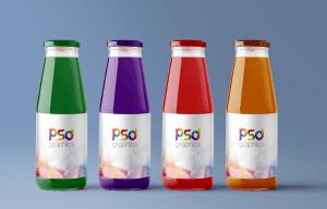 Juice Bottle – Free PSD Mockup