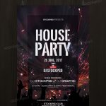 House Party – Download Free PSD Flyer Template