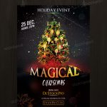 Download Magical Christmas – Free PSD Flyer Template