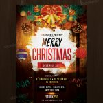 Download Merry Christmas - Free PSD Flyer Template