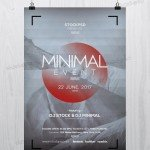 Minimal Event - FREE PSD Flyer Template