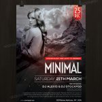 Minimal - Download Free PSD Flyer Template