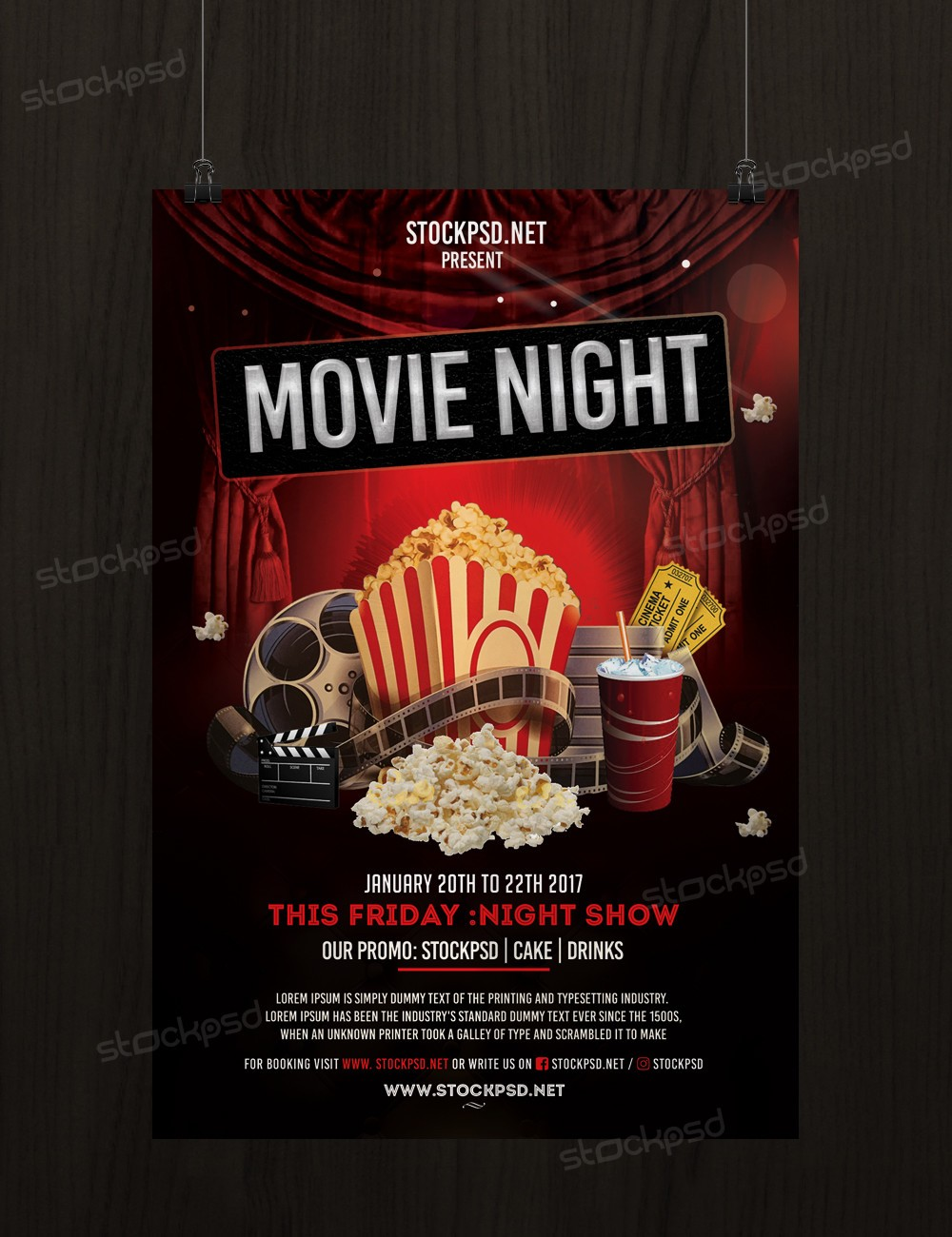 Stockpsd Net Free Psd Flyers Brochures And More Movie
