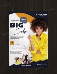 Big Sale – PSD Free Flyer Template