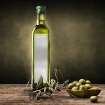 Olive Oil Bottle Mockup Free PSD