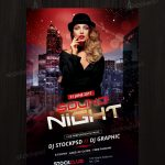 Download Sound Night - Free PSD Flyer Template