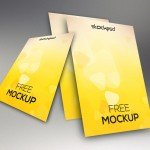 Mockup Flyer - Download FREE PSD Mockup