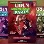 Ugly Christmas Sweater – Download Free PSD Flyer