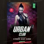 Urban Club - Download Free PSD Flyer Template