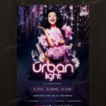 Urban Light – Download Free PSD Flyer Template
