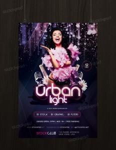 Urban Light – Download Free PSD Flyer Template