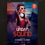 Urban Sound - Download Free PSD Flyer Template