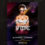 Download Vibe Night – Free PSD Flyer Template