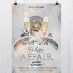 White Affair - Free PSD Flyer Template