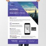 Agency Business – Download Free Business PSD Flyer Template