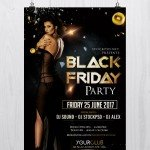 Black Friday – Download Free PSD Luxury Flyer Template