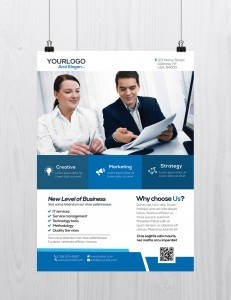 Corporate Flyer Template – Download Free PSD Flyers