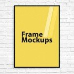 Download Free Poster Frame PSD Photoshop Mockup