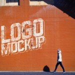 Download Street Wall Logo Mockup – Free PSD Mock-up