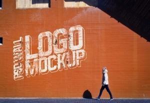 Download Street Wall Logo Mockup – Free PSD Mock-up