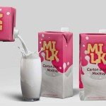 Milk Carton Box - Download Free PSD Mockup