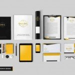 Stationery Mockup - Download Freebie Mockup PSD