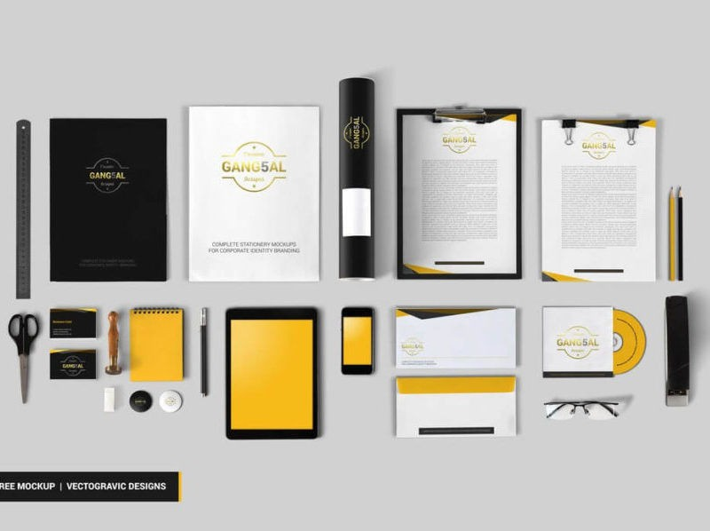 stationery mockup download freebie mockup psd stockpsd