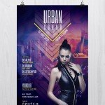 Urban Sound - Free PSD Flyer Template Download