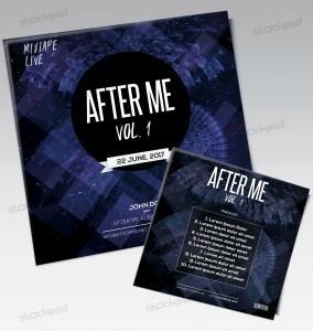 After Me – Free PSD Mixtape / Album Artwork Cover