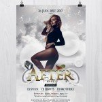 After Party - Download Free PSD Flyer Template