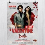 Be My Valentine – Free PSD Flyer Template