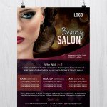 Beauty Salon - Free PSD Flyer Template
