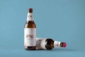 Beer Bottle – Free PSD Mockup