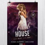 Club House - Download Freebie PSD Flyer Template