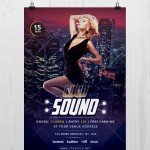 Club Sound - Download FREE PSD Flyer Template